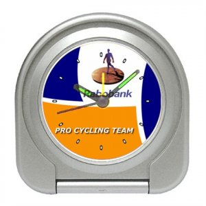 RABOBANK CYCLING TEAM CYCLE ALARM CLOCK NEW (FREE SHIPPING!!)