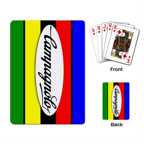 CAMPAGNOLO CYCLING CYCLE BIKE DECK PLAYING CARDS NEW (FREE SHIPPING WORLDWIDE!!)