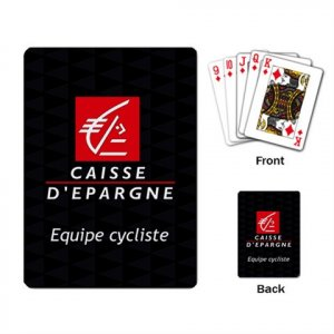 CAISSE D`EPARGNE TEAM CYCLING CYCLE DECK PLAYING CARDS NEW (FREE SHIPPING WORLDWIDE!!)