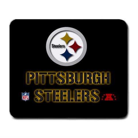 PITTSBURGH STEELERS MOUSE PAD MOUSEPAD(FREE SHIPPING WORLDWIDE!!)