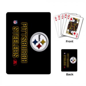 PITTSBURGH STEELERS DECK PLAYING CARDS NEW (FREE SHIPPING WORLDWIDE!!)