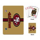 SAN FRANCISCO 49ERS DECK PLAYING CARDS NEW (FREE SHIPPING WORLDWIDE!!)