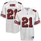 SAN FRANCISCO SF 49ERS FRANK GORE Jersey SZ 48(M) NEW (Free Shipping!!)