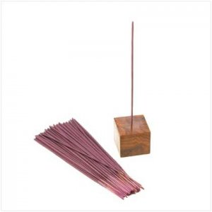 Lavender scent Incense with holder.