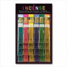 Incense Stick Dispay comes with 48 packs and dispay case
