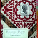 RARE QUILTING BOOK PAPERCUTS PLENTY BALTIMORE BEAUTIES