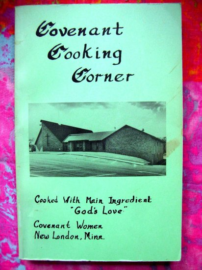 New London MINNESOTA MN CHURCH COOKBOOK 1979 Comfort Food Norwegian & Swedish Recipes!