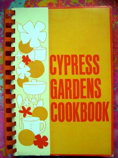 Sold! CYRESS GARDEN COOKBOOK 1974 WINTER HAVEN FLORIDA RECIPES