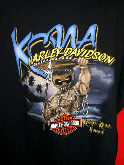 SOLD! NEW 4XL KAILUA KONA HAWAII HARLEY DAVIDSON T SHIRT NWT XXXXL 2003 FREE SHIPPING!