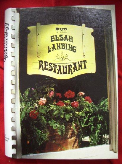 Sold! Elsah Landing Restaurant Cookbook Illinois IL 1985