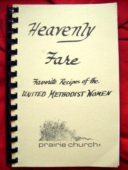 SOLD! Eden Prairie Minnesota MN Methodist Church Cookbook 1988