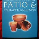 COMPLETE BOOK PATIO PLAN & CONTAINER GARDEN /GARDENING INSTRUCTION BOOK