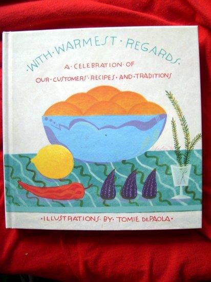 SOLD! WARMEST REGARDS MARSHALL FIELD'S COOKBOOK 1995