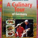 CULINARY TOUR GERMANY COOKBOOK 300 GERMAN RECIPES RARE BOOK!