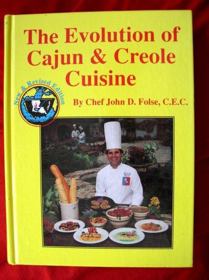 RARE COOKBOOK~~~ EVOLUTION OF CAJUN and CREOLE CUISINE Recipe BOOK