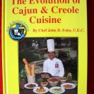 RARE COOKBOOK~~~ EVOLUTION OF CAJUN and CREOLE CUISINE Recipe BOOK