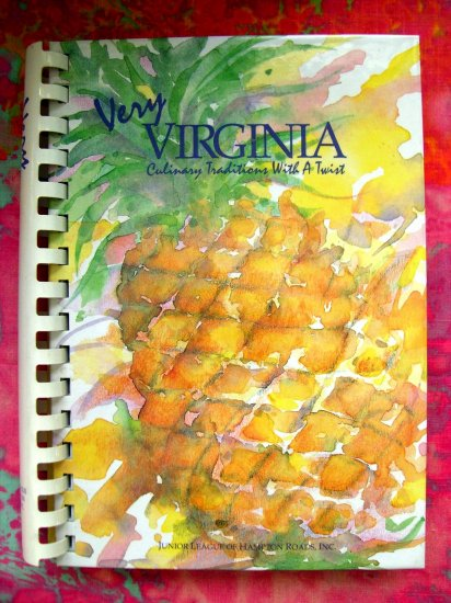 SOLD! VERY VIRGINIA COOKBOOK CULINARY TRADITIONS Newport News VA JUNIOR LEAGUE 400 RECIPES