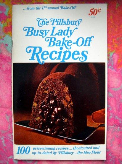 SOLD! VINTAGE 1961 PILLSBURY BAKE OFF COOKBOOK 17th GRAND NATIONAL