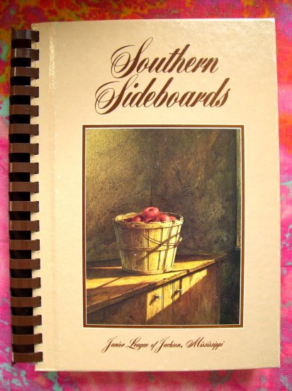 SOLD! SOUTHERN SIDEBOARDS Junior League Cookbook JACKSON MISSISSIPPI  Award Winning Recipes!