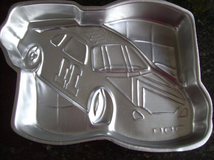 SOLD! WILTON CAKE PAN RACE CAR NASCAR #2105-1350 Car Number 11