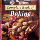 Better Homes & Gardens COMPLETE GUIDE TO BAKING HC Recipes for Cakes Cookies Bread Pies Cookbook