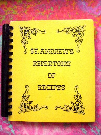 SOLD! ST ANDREW'S CHURCH COOKBOOK BRAINERD MINNESOTA MN 1979