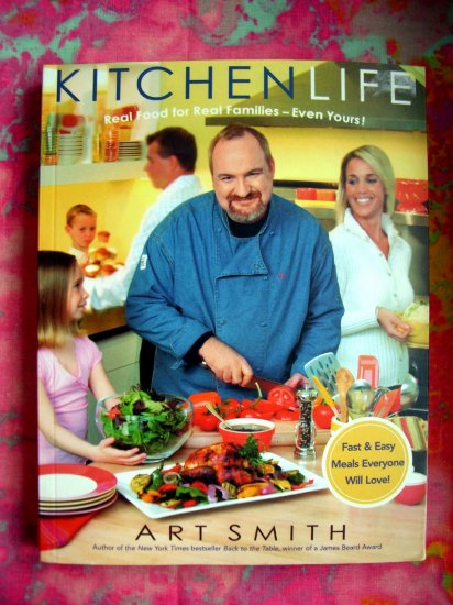 Kitchen Life Real Food for Real Families 1st Ed Cookbook FAST & EASY Meals Oprah's Chef 130 Recipes!