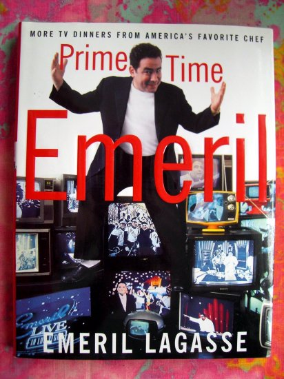 Sold! Prime Time by Emeril Lagasse HC 1st EDITION Food Network Cookbook