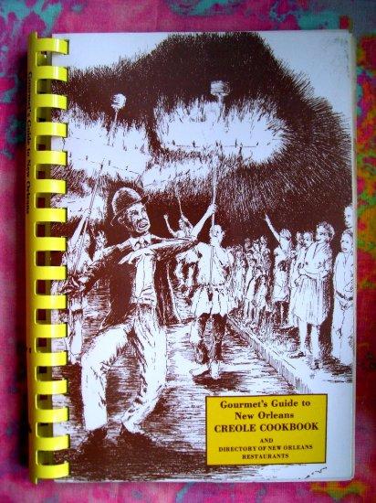 SOLD!  GOURMET GUIDE NEW ORLEANS LOUISIANA COOKBOOK Creole Cajun RECIPES