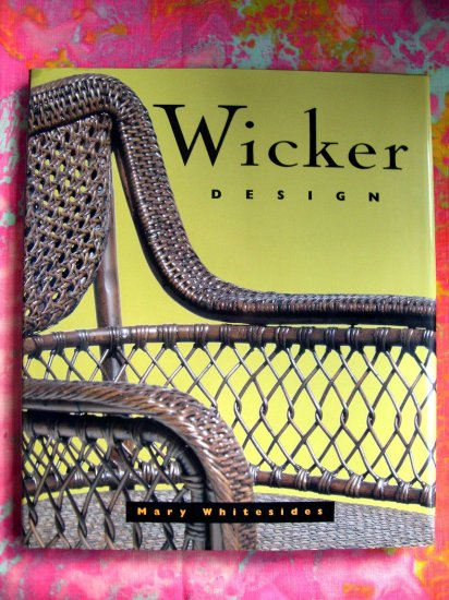 SOLD! Wicker Design by Mary Whitesides HCDJ Woven Furniture / Rattan / Interior Decoration