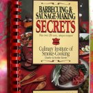 Barbecuing and Sausage Making Secrets SPIRAL Cookbook HTF Recipes!