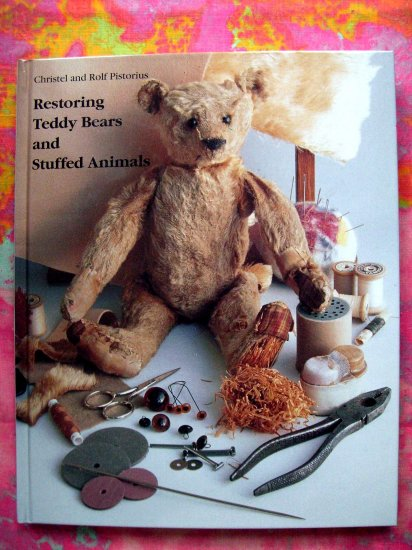 "ON SALE!  RESTORING TEDDY BEAR STUFFED ANIMALS ""HOW TO"" Repair Instruction Book"