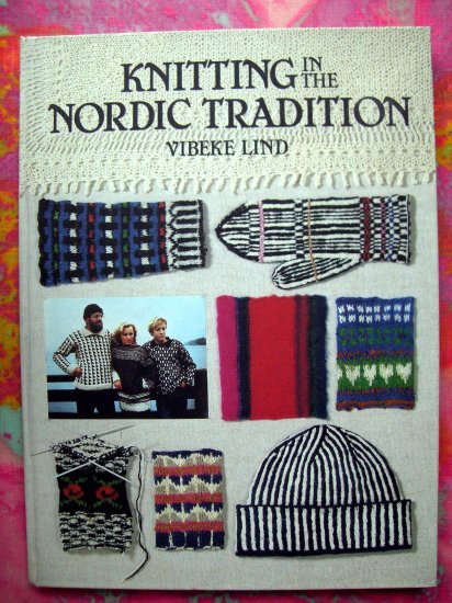 KNITTING IN THE NORDIC TRADITION ~~ICELANDIC PATTERN RARE KNIT INSTRUCTION BOOK