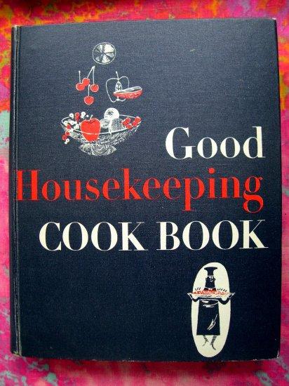 SOLD! VINTAGE 1955 GOOD HOUSEKEEPING COOKBOOK Very Good Vintage