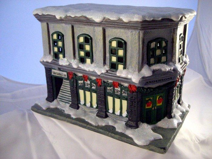 SOLD! It's (Its) A Wonderful LIfe BAILEY BUILDING & LOAN Enesco Village Series 1