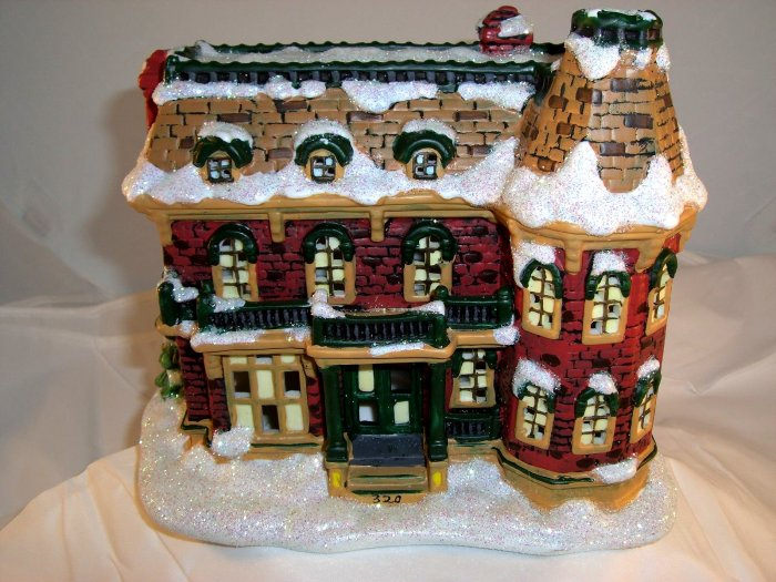 SOLD! It's (Its) A WONDERFUL 320 SYCAMORE Bailey Home  Enesco Village Series 1
