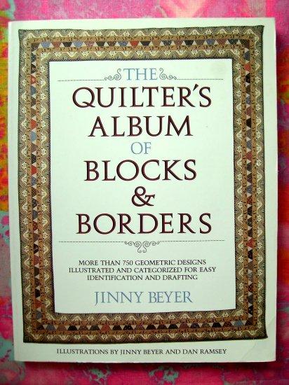 SOLD!  Quilter's Album of Blocks & Borders 750 Geometric Designs Easy Quilt Book
