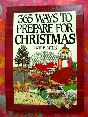 365 Ways to Prepare for Christmas Book (365 Series)