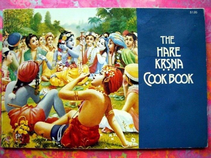SOLD! The Hare Krsna (Krishna) Cookbook 1973 RARE! East Indian Favorites