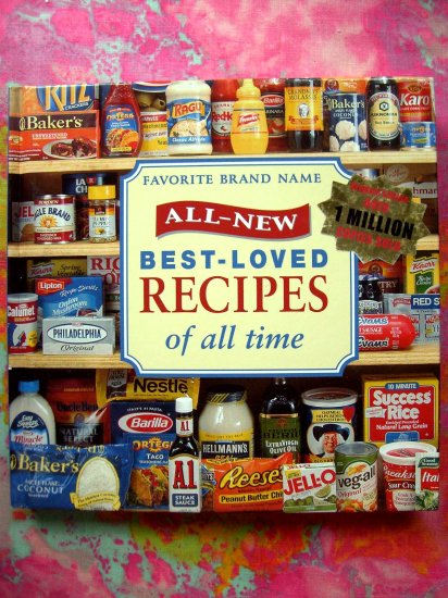 Favorite Brand Name All Time Best Loved Recipes HC Cookbook