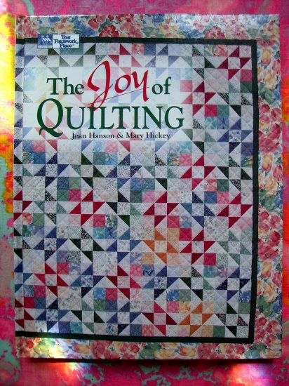JOY OF QUILTING~ Quilt Instruction 26 Quilt Pattern Book Patchwork Place