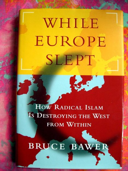 While Europe Slept: How Radical Islam is Destroying the West from Within 1st Ed HCDJ Book