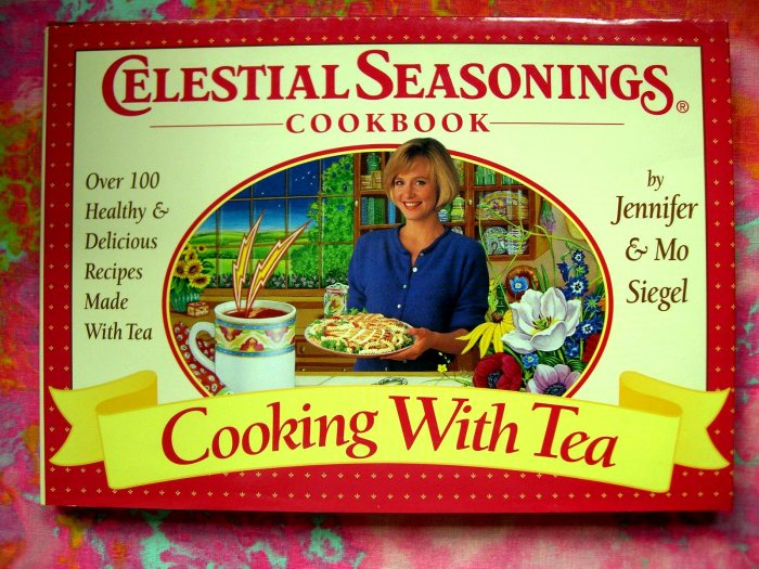 SOLD! Cooking With Tea Celestial Seasonings Cookbook  Over 100 Healthy & Delicious Recipes