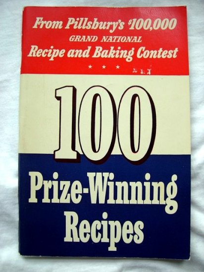 SOLD! Rare 1st Pillsbury Bake Off Grand National Baking Contest 1949 1950 Cookbook