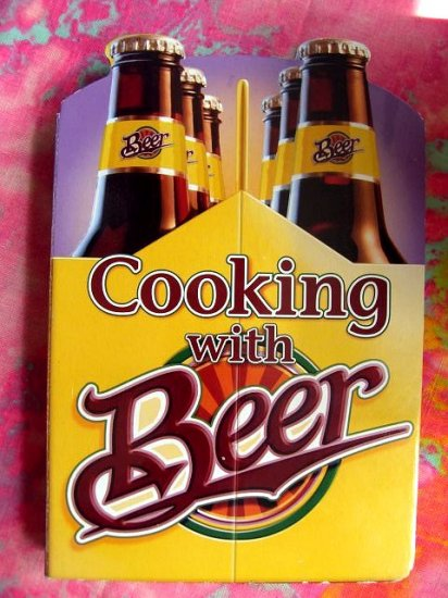 SOLD! Cooking with Beer Cookbook 50 Recipes! Board  Book
