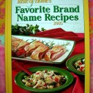 Taste Of Home's Favorite Brand Name 300 Recipes 2005 HC Cookbook
