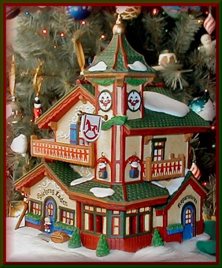 Dept 56 Alpine Village ~ SPIELZEUG LADEN  # 56192 NEW in BOX