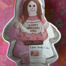 "Wilton Cake Pan ""Little Dolly"" with Insert # 2105-9404 Doll"