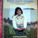 Maine Island Classics: Living and Knitting on a Maine Island Knitting Sweater Pattern Book
