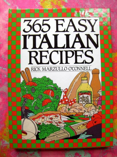SOLD! 365 Easy Italian Recipes Cookbook  (365 Series)